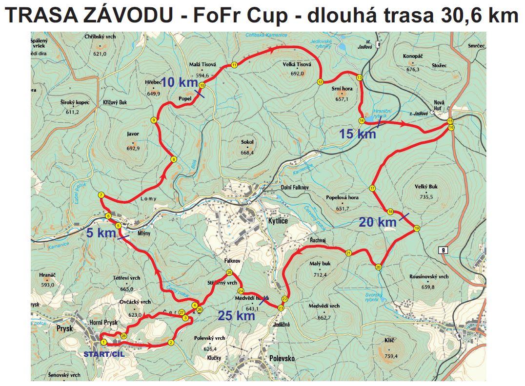 Fofr cup mapa